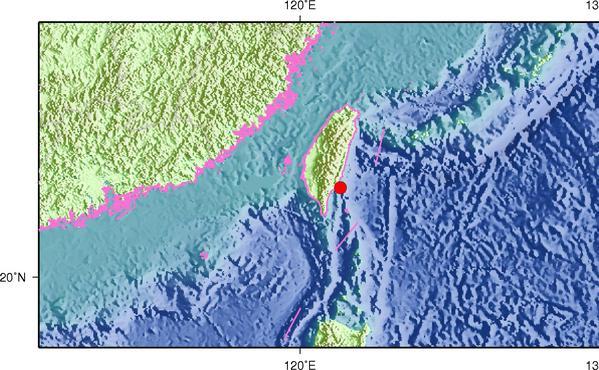 台湾台东发生地震【突发】