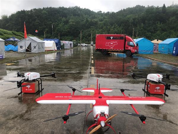 京东无人机救援队成立:未来积极参与灾害救援工作