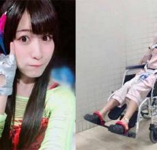 女星被砸中腰部,下半辈子都将与轮椅陪伴