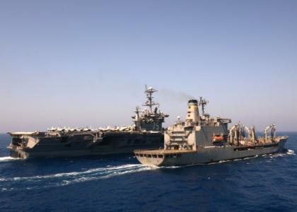 美航母返回地中海 原因是什么