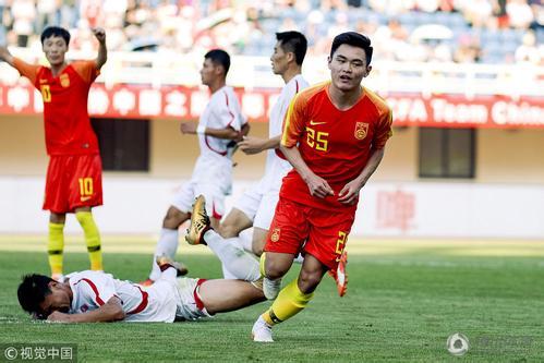 U23国足6-2朝鲜 真的是太厉害了