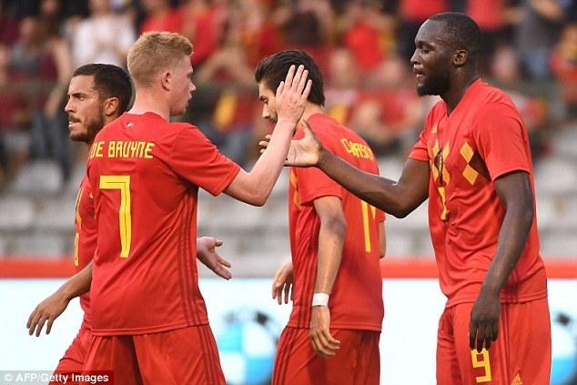 比利时3-0埃及洗刷红魔耻辱 现场过程回顾