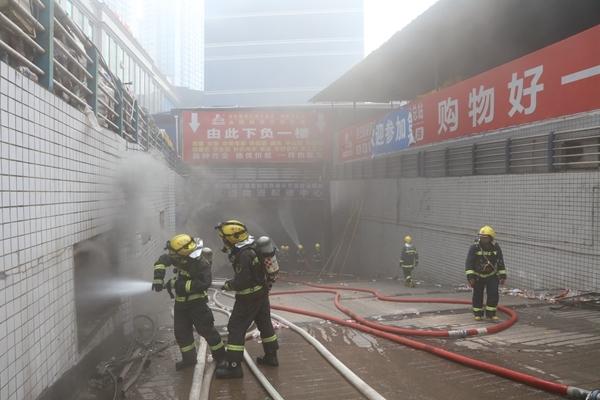 四川市场发生火灾起火原因是什么 现场火势凶猛