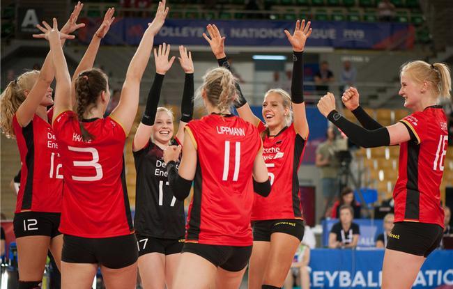 中国女排VS德国 比赛结果分析