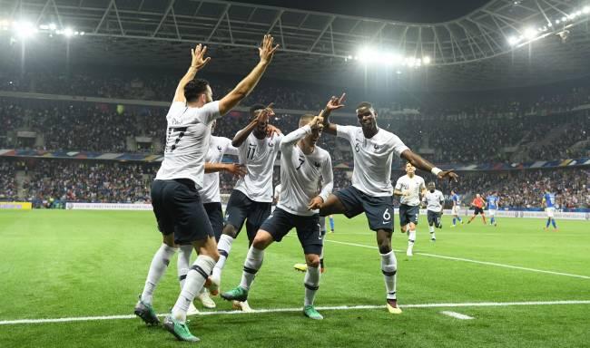 法国队3-1意大利 法国队真的这么厉害么