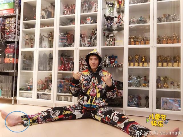 刘翔晒儿童节礼物 刘翔儿童节收到了什么礼物