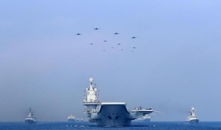 辽宁舰初步形成战斗力 真的是太厉害了