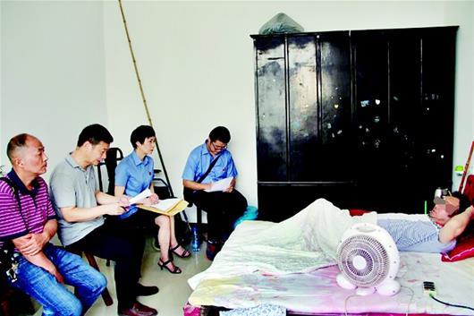 截瘫男子家中受审详情介绍 如何收监成问题