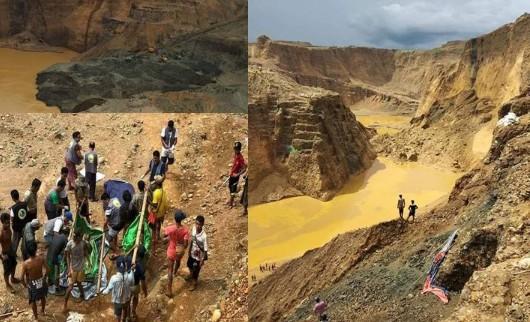 缅甸翡翠矿坑塌陷是怎么回事 塌陷原因是什么 伤亡惨重
