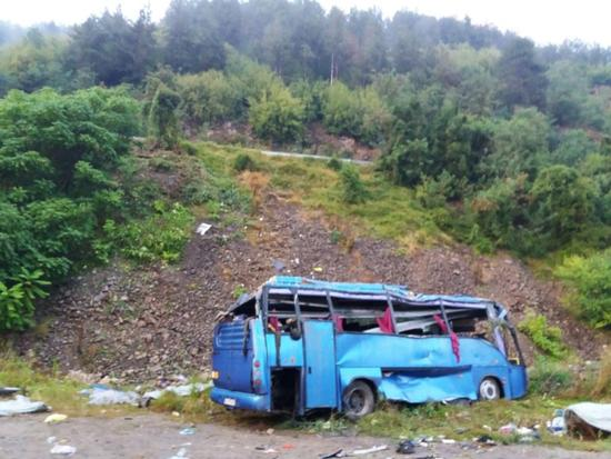 保加利亚大巴翻车  怎么翻车的 具体原因