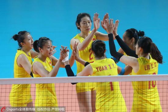 中国女排VS加拿大 赛事回顾 详情介绍