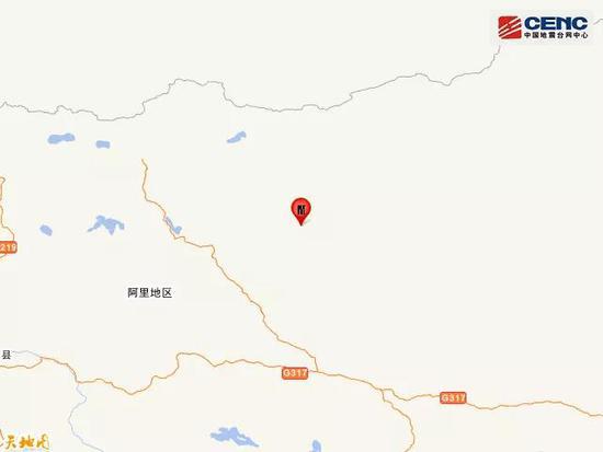 阿里4.2级地震 具体位置在哪儿 有没有人员伤亡