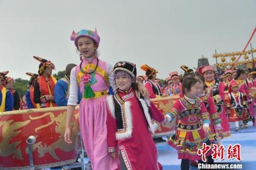 羌族同胞欢聚北川 共庆羌历新年 真是热闹 详情介绍