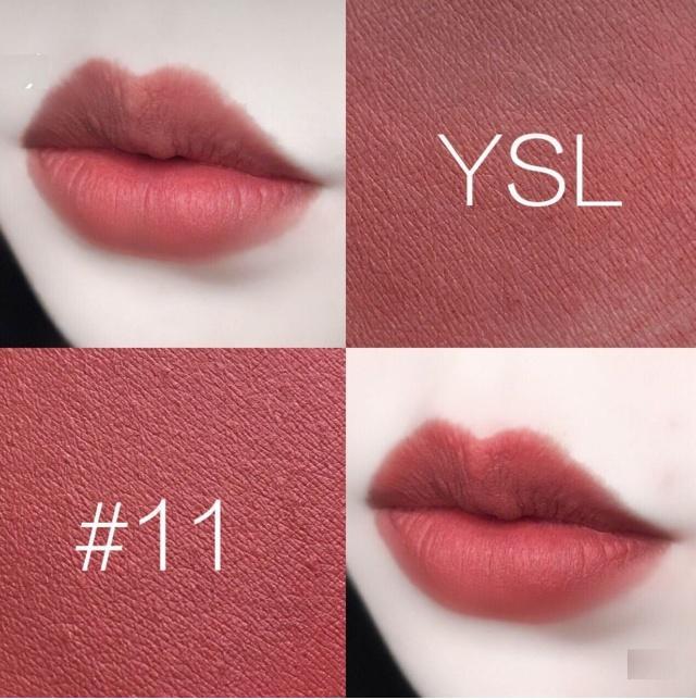 色高速合集_ysl小金条口红必入色号合集 这几个颜色简直就是逆天了