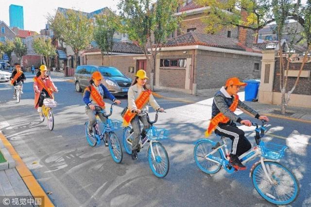 骑共享单车过年 10余天骑了800㎞ 详情介绍