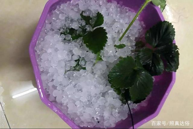 桂林突遭冰雹袭击 最高风力达17级 真是太可怕了